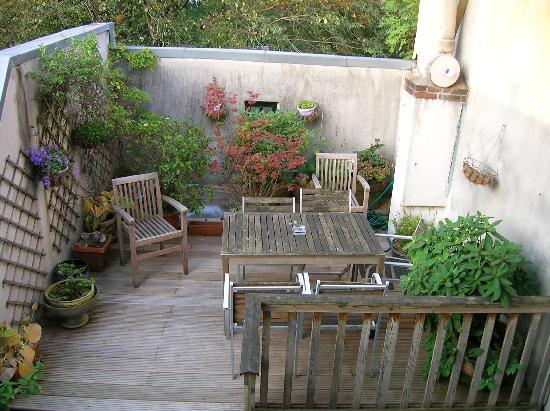 Maes B & B : la terraza
