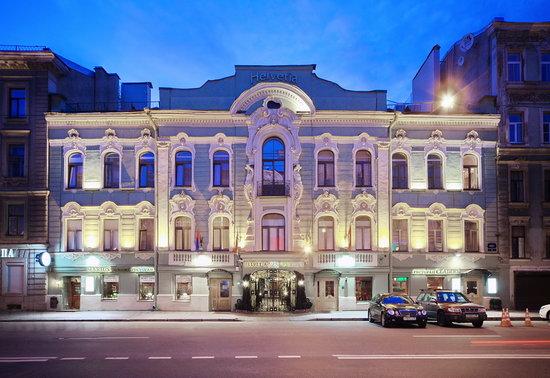 Helvetia Deluxe Hotel: Exterior