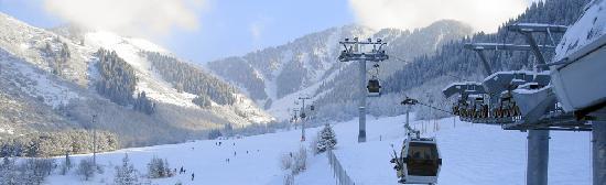 Hotel Ak-Bulak : Mountain-skiing stadium