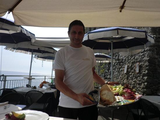 Torre Normanna Restaurant: my birthday - fish