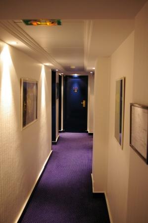 Atlantic Hotel: Hotelflur