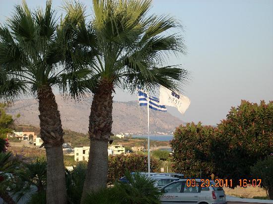 Rodos Village Beach Hotel & Spa: View from main bar