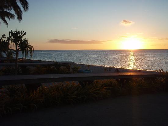 Aitutaki Escape: View from the Spa