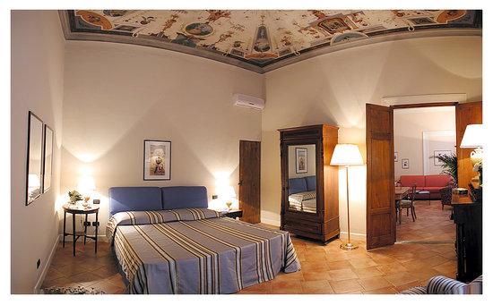 Palazzo Alfani al David: bedroom classic apt