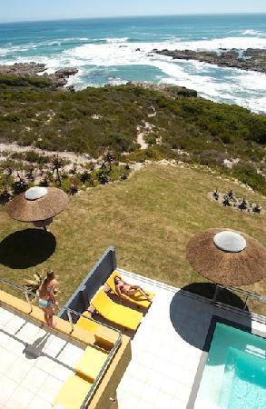 كراي فيش لودج سي آند كانتري جيست هاوس: View over Pool Deck