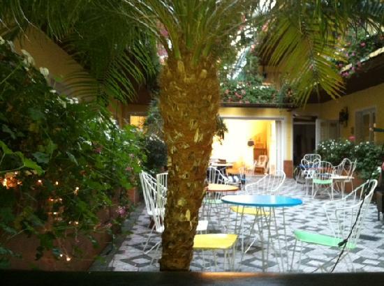 Hotel am Brillantengrund: chillen und frühstücken wie im süden...