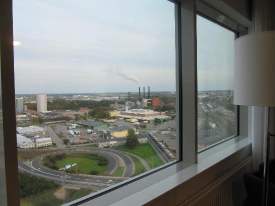 Sky Hotel Apartments Linkoping: View from 15th floor studio