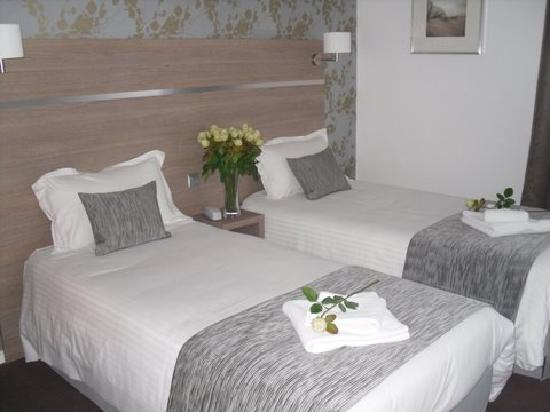 Beaujoire Hotel : Chambre twin