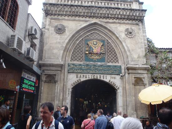 Kapali Carsi: Entrance