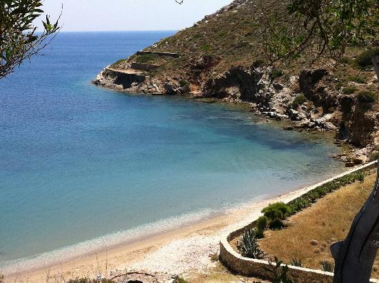 Galini Pension: Tzamaria beach