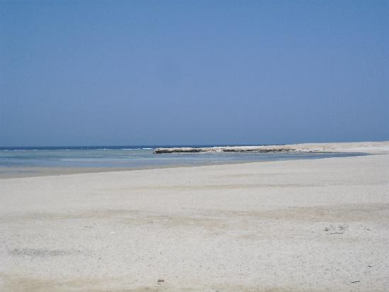 SENTIDO Oriental Dream Resort : Plage privée