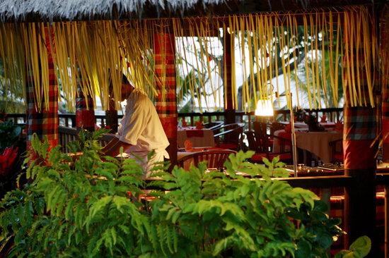 Puri Dajuma Cottages: Dajuma restaurant www.dajuma.com