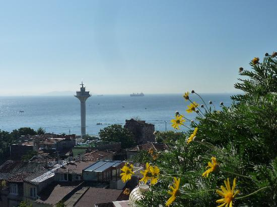Dersaadet Hotel Istanbul: Marmara view from Dersaadet's terrace