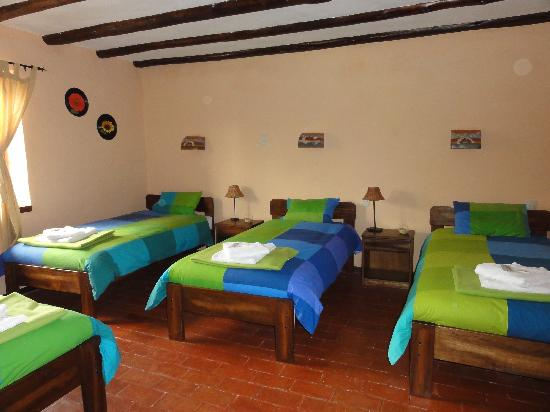 La Casa de Barro Lodge & Restaurant : bright bedrooms
