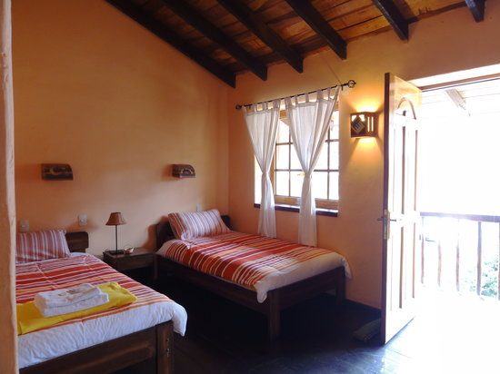 La Casa de Barro Lodge & Restaurant: room with a balcony