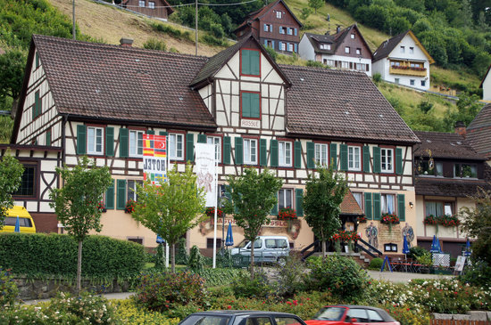 Schiltach, Germany: Exterior of hotel