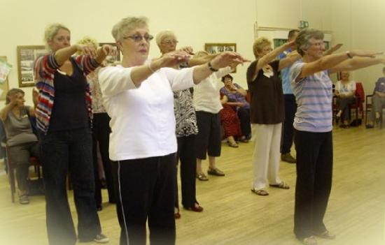The Tai Chi Club: Group Practise Session