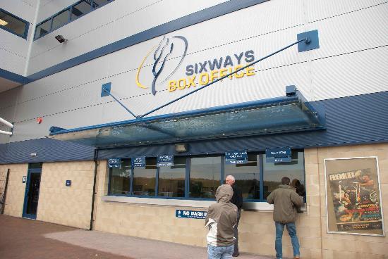 Sixways Stadium: Collecting tickets