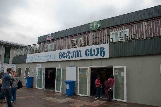 Sixways Stadium: Club rooms
