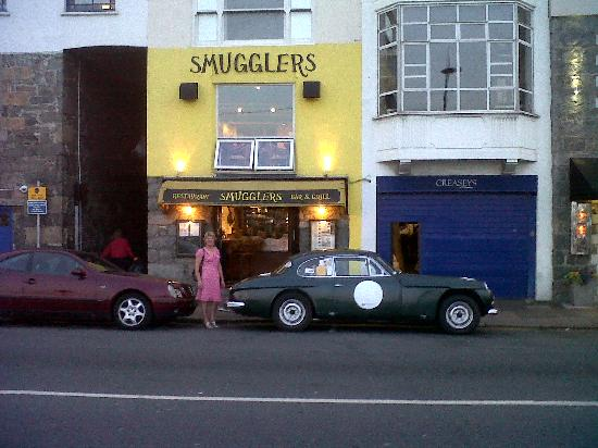 Smugglers Grill & Bar: A view from outside