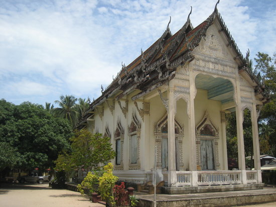 Ko Samui, Thailand: The main prayer hall of the temple