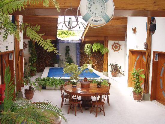 Piscina interior foto de hotel casa branca guaruj - Casas con piscina interior ...