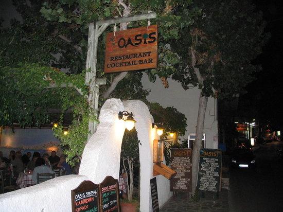 Eingang zum OASIS
