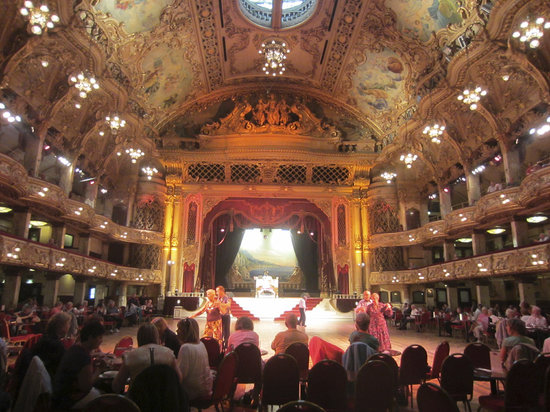 The Blackpool Tower Ballroom: something of the magic of this wonderful place