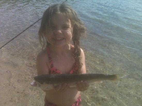 Sweetwater Forest Campground: The fishing is great!