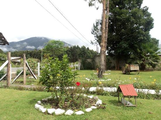 Oxapampa, Peru: Garden