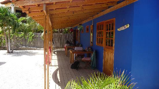 Casa Calexico: zicht op de kamers