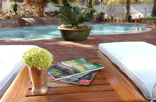 The Willcox: Poolside relaxation