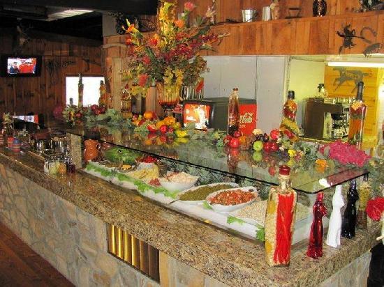 Piney Creek, Carolina del Norte: Buffet Bar