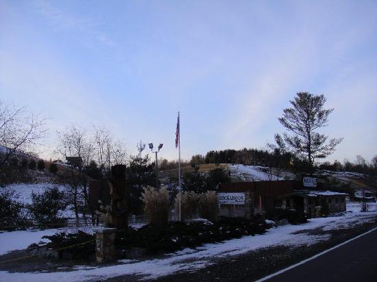 Piney Creek, Carolina del Nord: Buckaroo's Grille Winter