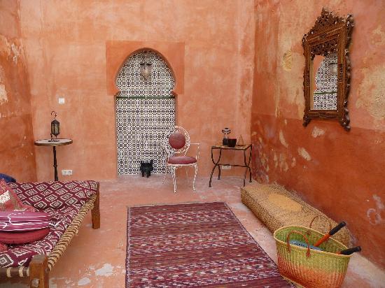 Le Clos du Rempart : Moorish lounge
