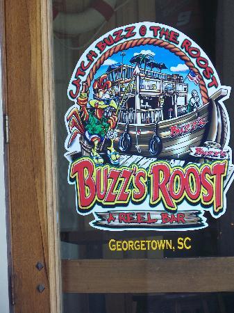 Buzz's Roost: door