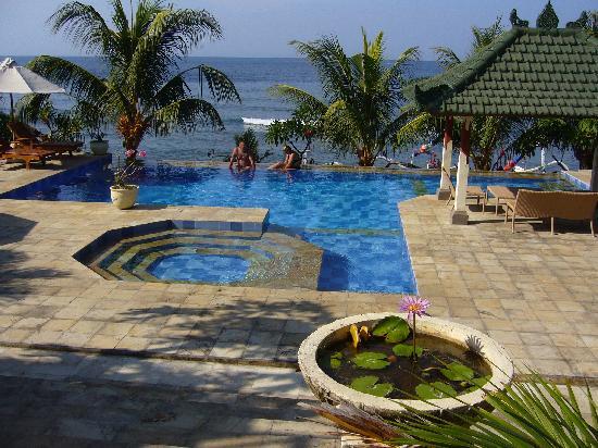 Puri Wirata Dive Resort and Spa Amed: Piscina 2
