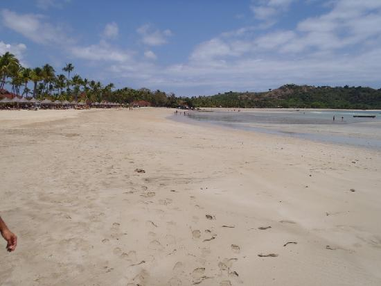 Andilana Beach Resort: Beach, low tide