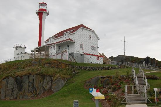 Cape Forchu Lightstation: Another View of the Lighthouse