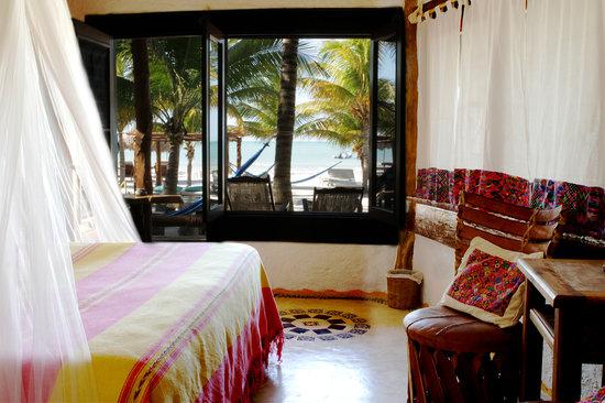 Holbox Hotel Mawimbi: room Holbox Mawimbi's ocean front room