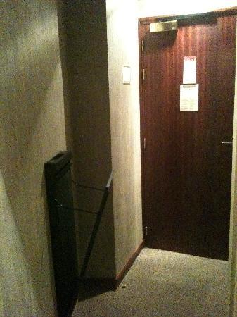 Hotel Terminus du Forez: la petite entrée avec le valais chauffant