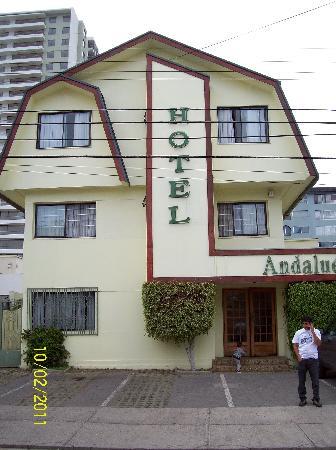 Hotel Andalue : frente hotel