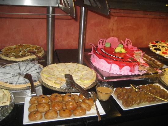 Grand Pasa Hotel: Desserts