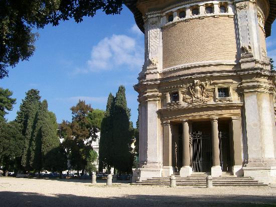 วิลลาบอร์กีส: Villa Borghese - arquitectura y verdor