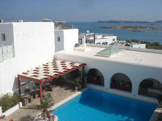 Stelia Mare Boutique Hotel: View from our room