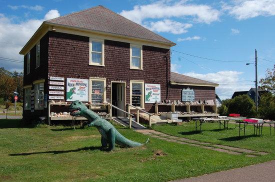 Parrsboro, كندا: Parrsboro Rock & Mineral Shop