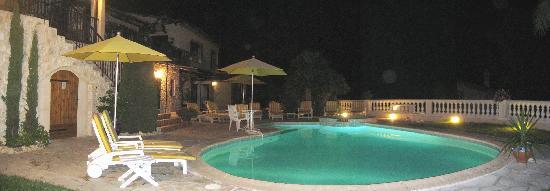 La Villa Florida : bain de minuit