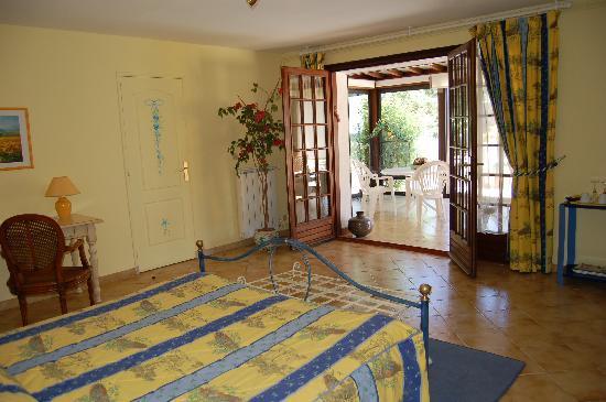 La Villa Florida : Suite PALMIER avec véranda privée