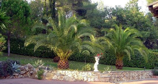 La Villa Florida : Parc