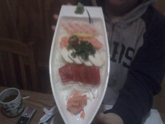 Sushi 21: sashimi